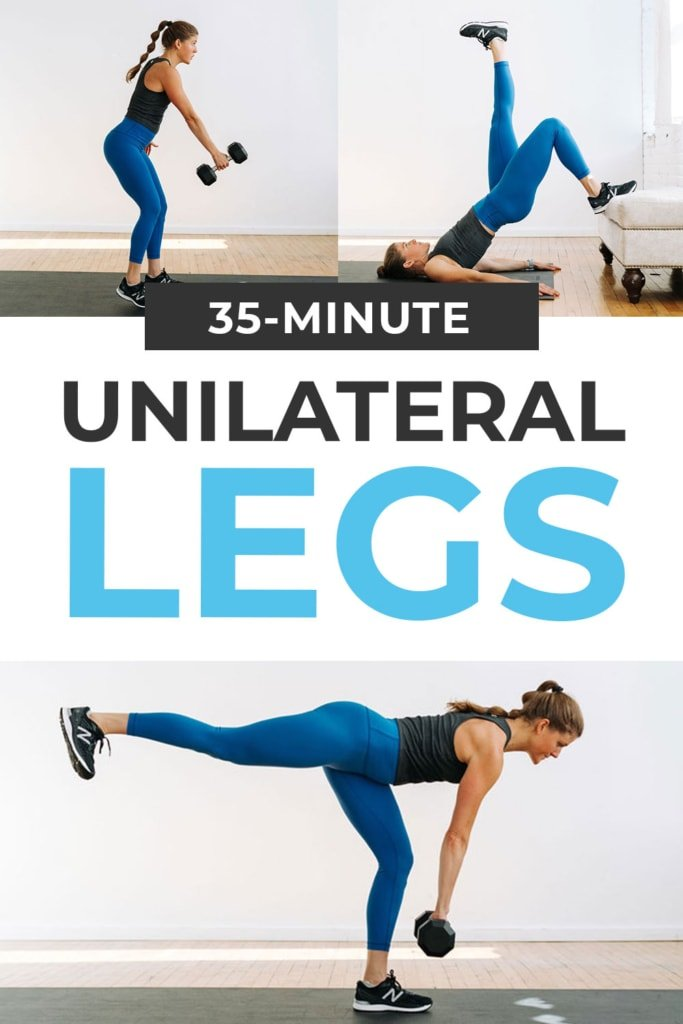 Unilateral Leg Workout At Home (8 Single Leg Exercises)