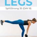 SplitStrong Program Day 8 | single leg exercises
