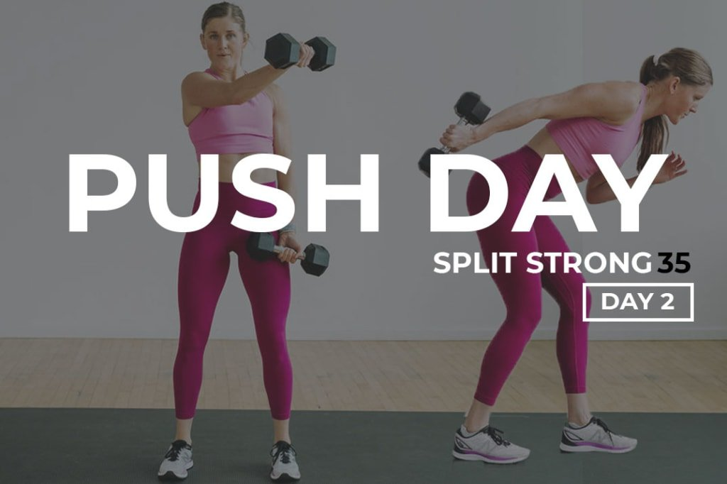 Upper Body Push Workout: shoulders, chest and tricep workout