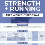 Strength Training and Running Workout PlanStrength Training and Running Workout Plan