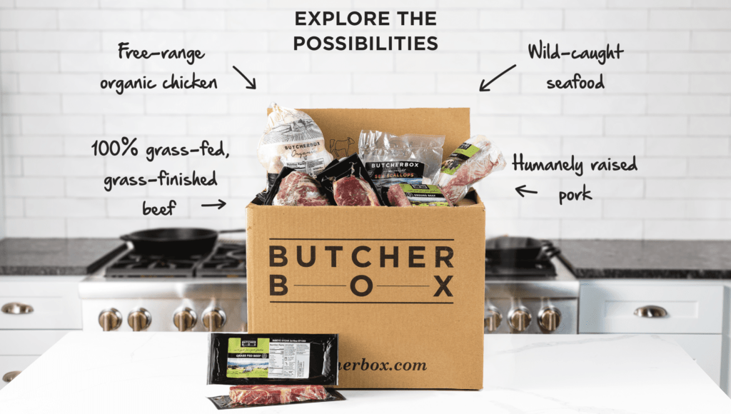 ButcherBox is a meat delivery subscription box
