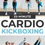 Kickboxing Workout pin for pinterest