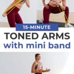 15 Minute Resistance Band Arm Workout