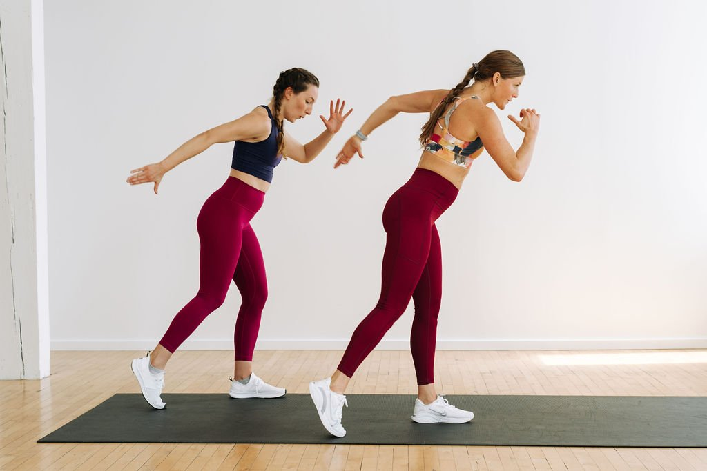 No Jumping, Low Impact Cardio At Home