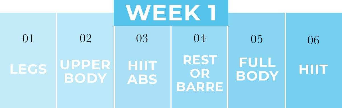 Home Workout Plan PDF   Week 1