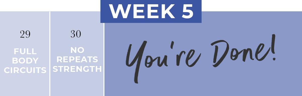 Fitness Beginner Workout Routine   Week 5