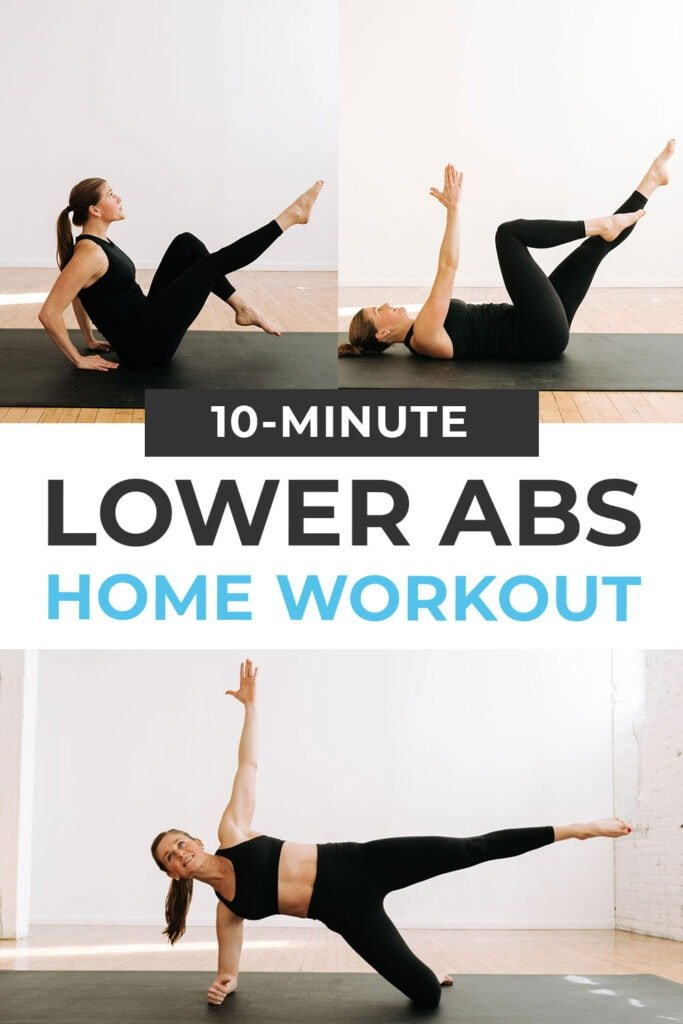 Best Lower Ab Workout for Women pin for pinterest