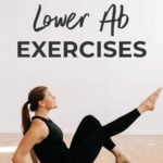 Lower Abs Exercises | Pin for pinterest