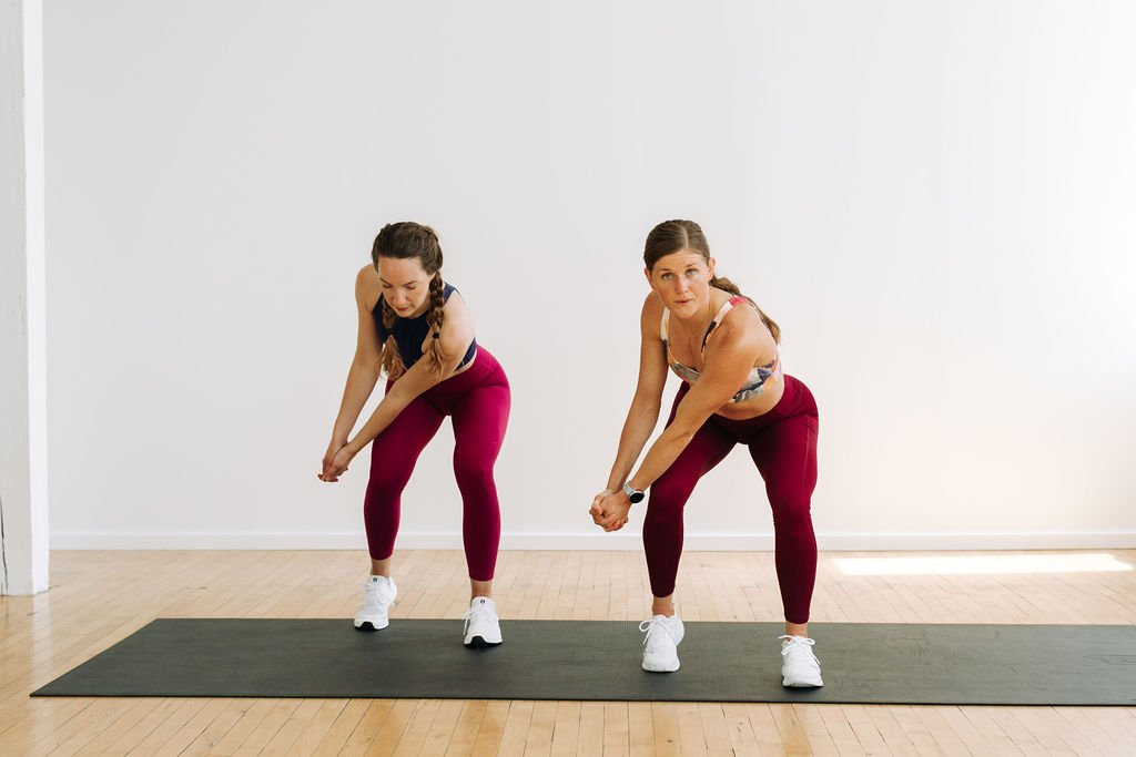 bodyweight wood chop cardio exercise