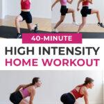 FULL body workout pin for pinterest