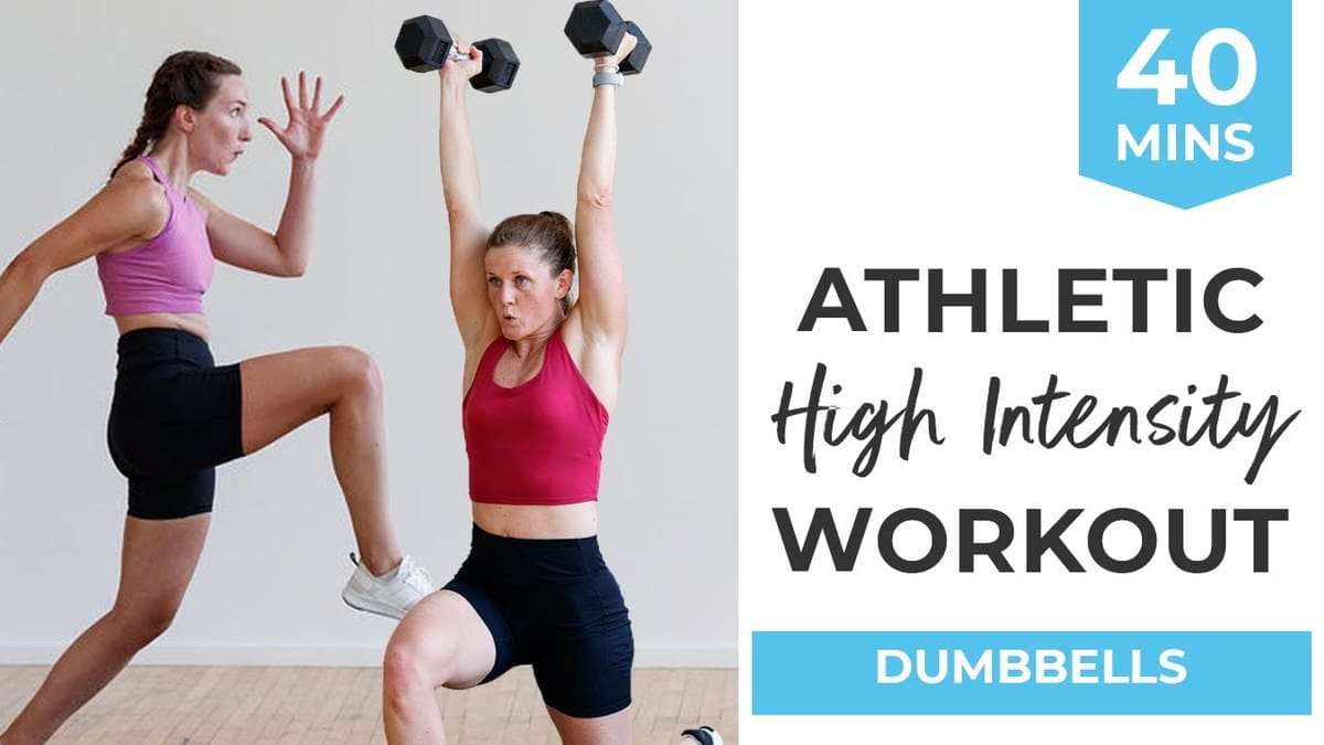 40-Minute Athletic High Intensity Workout