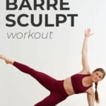 Barre Workout pin for pinterest